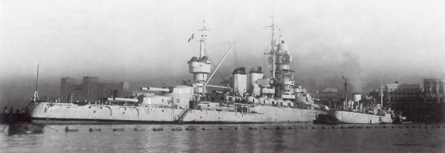 Il forcone del diavolo le navi che riposano a capo matapan for Andrea doria nave da guerra