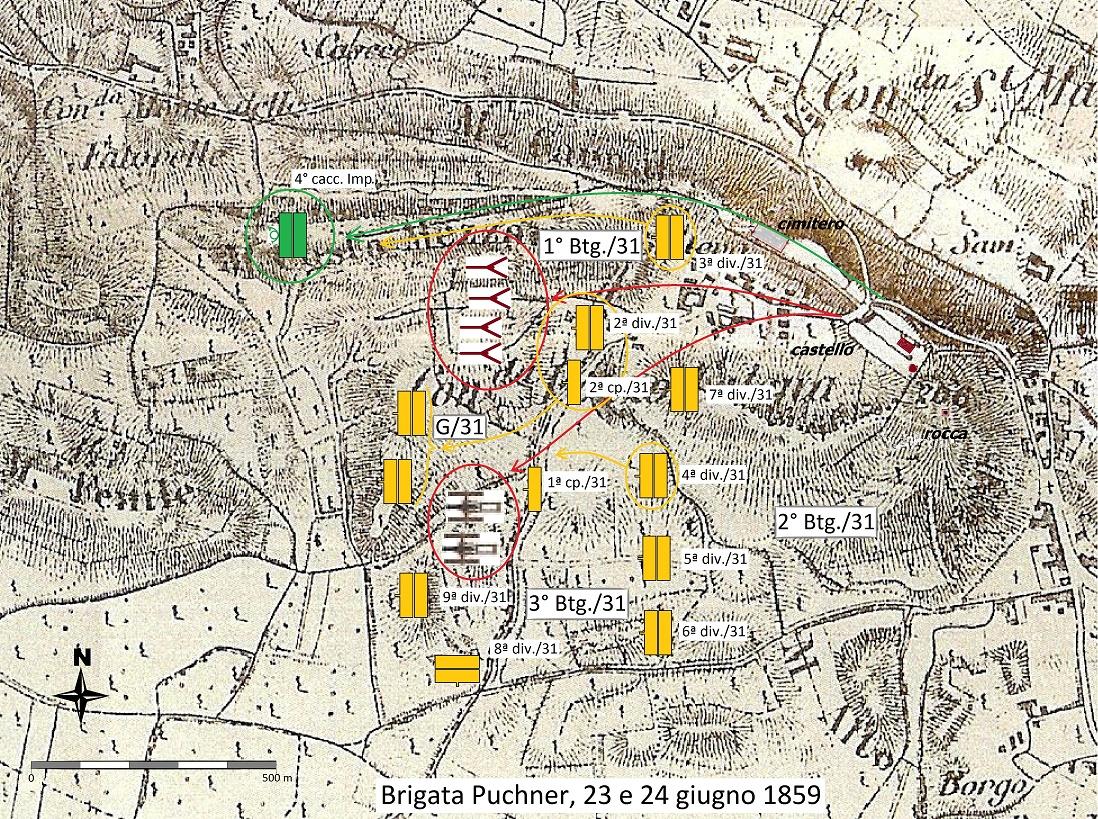 mappa di Pozzo Catena